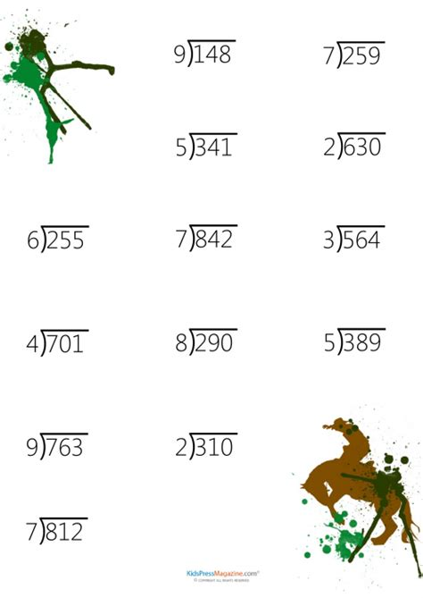 free printable division worksheets with 2 digit divisors division 187 2 digit divisor division worksheets free math