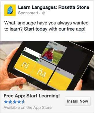 rosetta stone xbox one app review 5 pillars of a successful facebook app install ad caign