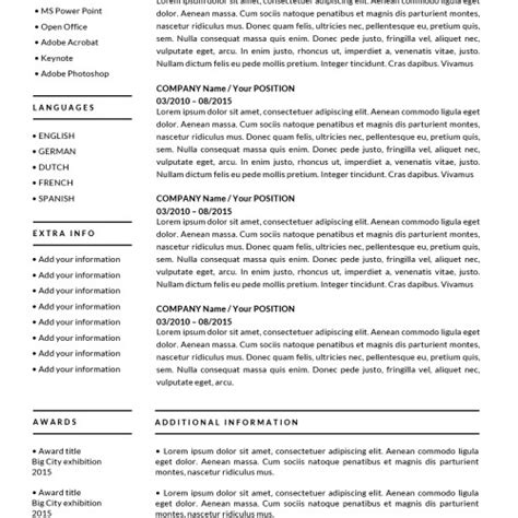 Resume Templates For Mac Pages by Resume Templates For Mac Also Apple Pages Ready