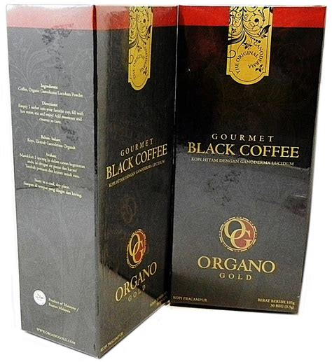 Moment Coffee Per Sachet organo gold gourmet black coffee includes 30 sachet per pack select pack size