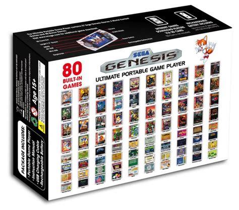 console sega mega drive console portable sega megadrive md port sd 80 jeux