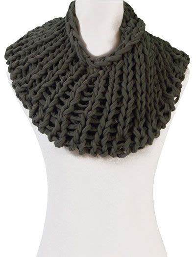 t shirt yarn cowl pattern 17 best images about circular needles on pinterest