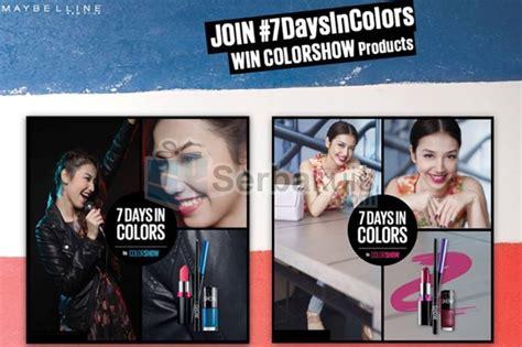 Maybelline Satu Paket kontes foto 7daysincolors