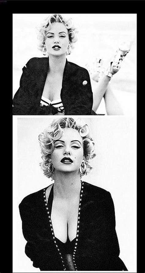 Charlize Theron pose en Marilyn - Divine Marilyn Monroe