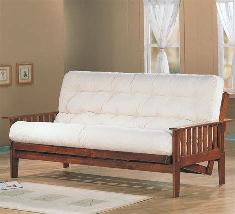 Futon For Back by Futon Oak Wood Futon Day Bed Frame Wooden Sofa Daybed