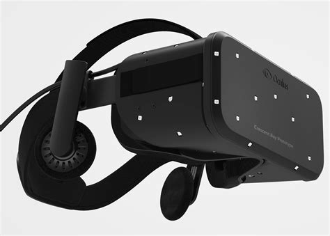 Vr Headset Pc Oculus Reveals Crescent Bay Vr Headset With 360 Degree