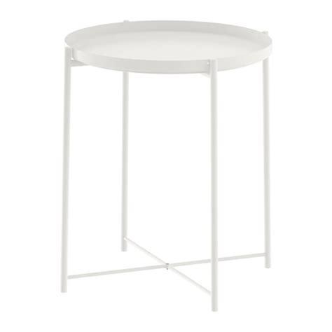 ikea white table gladom tray table white ikea