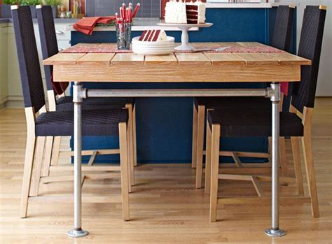 pipe table legs love the simplicity of these would like