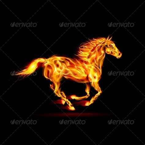 fire horse graphicriver