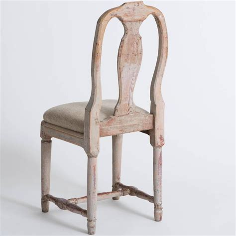 Rococo Dining Chairs Set Four Swedish 18th Century Rococo Period Dining Chairs For Sale At 1stdibs