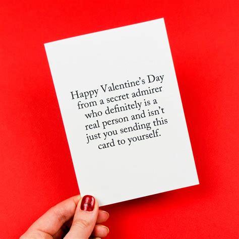 s day secret admirer cards secret admirer valentines card by darwin designs