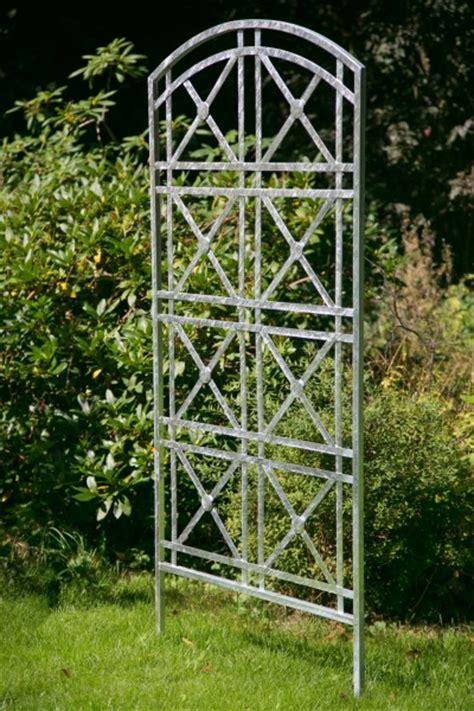 rankgitter aus metall rankgitter metall stockholm verzinkt 80cm breit