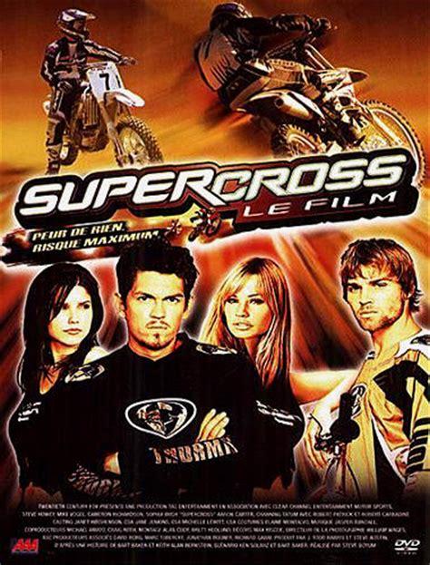 motocross movie cast supercross le film film 2005 de steve boyum