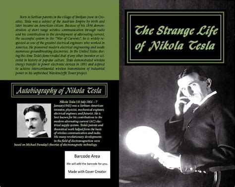 nikola tesla biography epub the strange life of nikola tesla my inventions by nikola