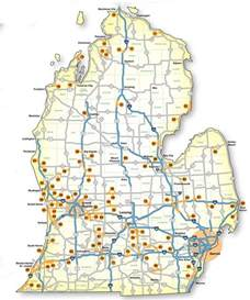 Road Map Of Michigan by Gallery For Gt Michigan Lower Peninsula Map