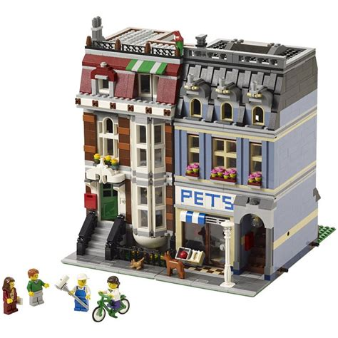 Bricks Lepin 15009 Petshop lepin 15009 city pet shop compatible lego 10218 new 2082pcs