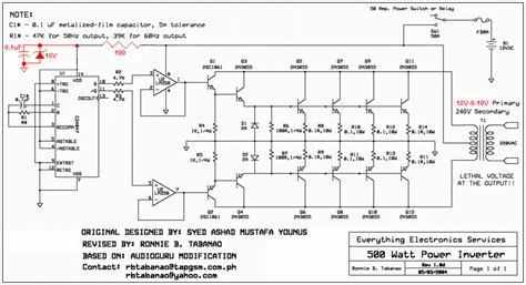 transistor mosfet untuk inverter hobi elektronika kumpulan rangkaian inverter perubah tegangan aki dc 12v menjadi listrik ac 220v