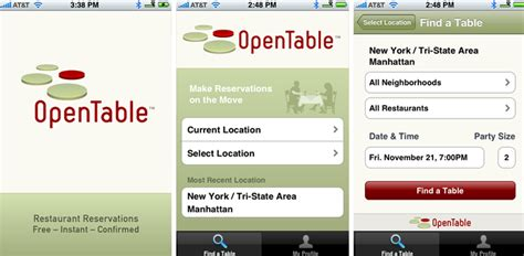 Open Table App by 7 Best Apps For A Smooth Road Trip Macara Vehicle Services