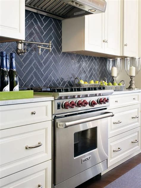 diy herringbone tile backsplash kitchen backsplashes dazzle with their herringbone designs
