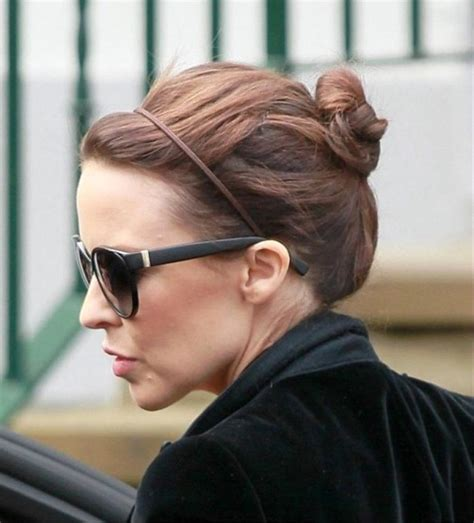 Minogue Hairstyles by Minogue Casual Bun Updo Hairstyle Behairstyles