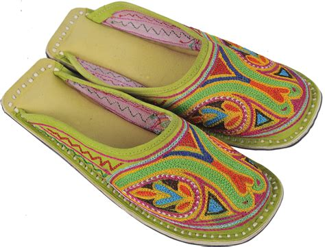 lime green slippers lime green slippers with all ari embroidery