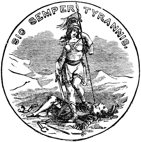 sic semper tyrannis tattoo sic semper tyrannis virginia and goddesses on