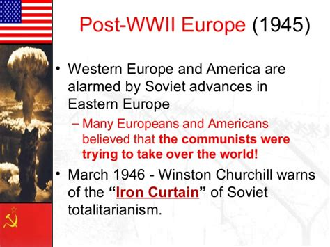 the iron curtain over america cold war