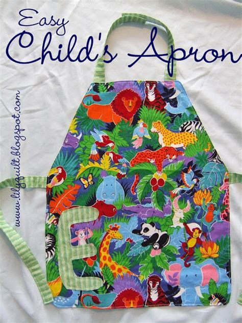 easy apron pattern uk lilyquilt easy child s apron tutorial