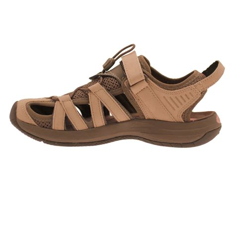 leather walking sandals womens teva rosa leather s walking sandals save buy