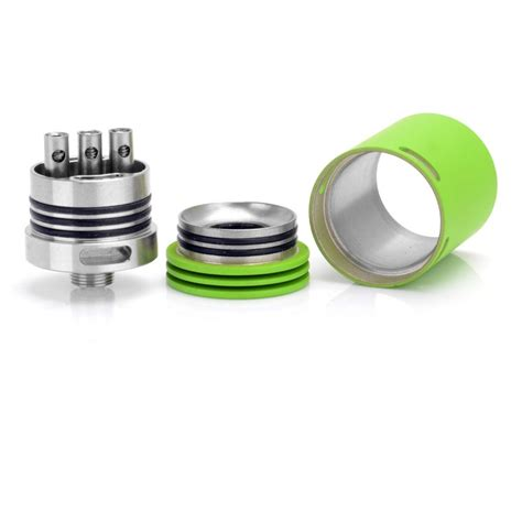 Freakshow Mini 22mm Green Driptip Authentic By Wotofo Rda Vapor authentic wotofo freakshow 22mm green stainless steel rda atomizer