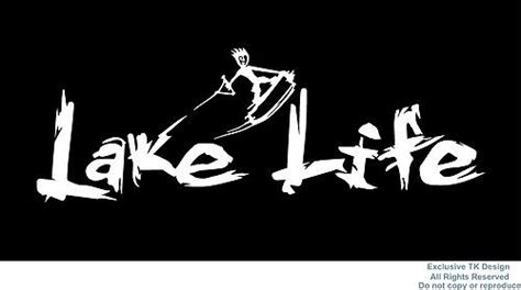 wake boat decals lake life decal sticker wakeboard wakeskate wakesurf boat