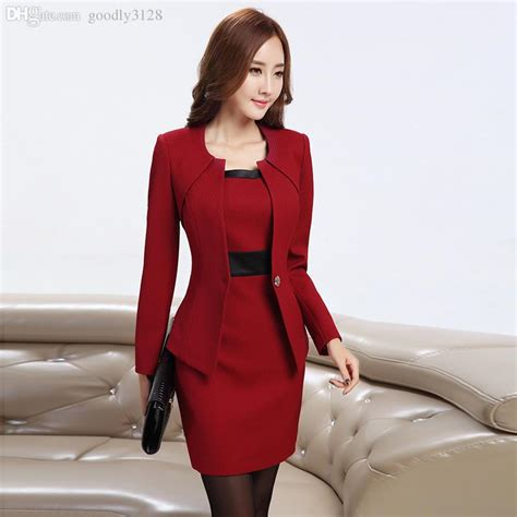 styles of work suites wholesale new women business dress suits formal office