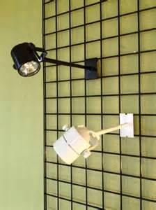exhibit lighting fixtures 2x3 halogen display light fixture for slatwall gridwall