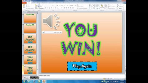 animated powerpoint quiz template for conducting quizzes trivia powerpoint making sounds repeat in your game