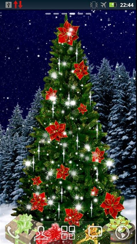 christmas tree live wallpaper android apps auf google play