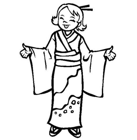 japanese kimono coloring page 86 japanese kimono coloring pictures japan coloring