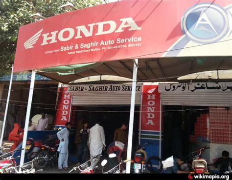 honda warranty shop sabir saghir auto service multan