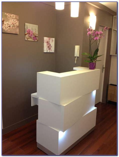 reception desk for hair salon black reception desks for salons desk home design