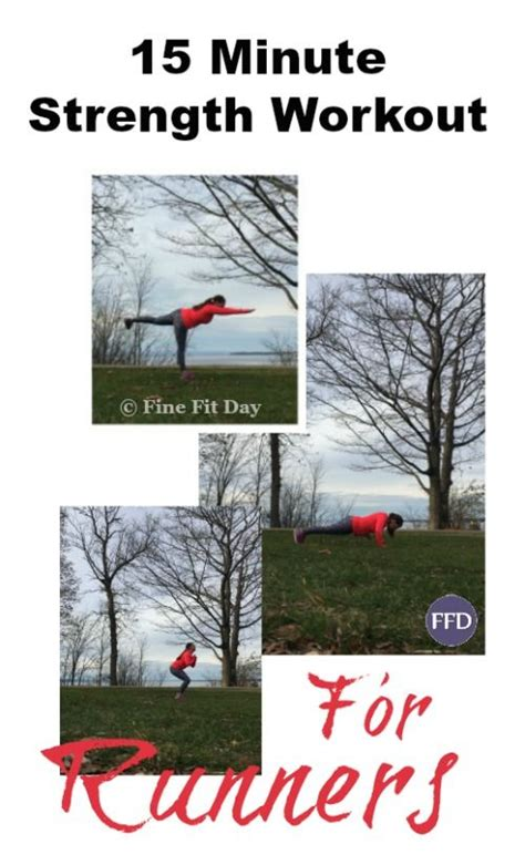15 minute strength workout for runners runners strength