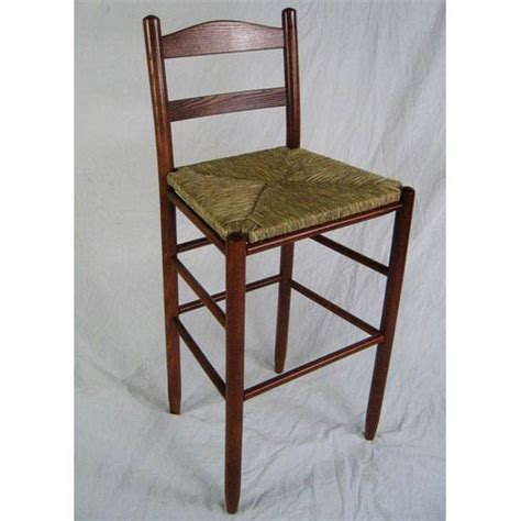 30 Inch Bar Stools With Backs by Walnut Ladder Back Bar Stool 30 Inch Bar Height 28 To 36