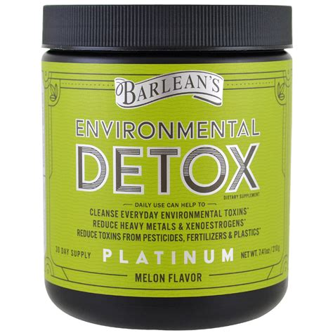 Melon Environmental Detox by Barlean S Environmental Detox Melon Flavor 7 41 Oz 210