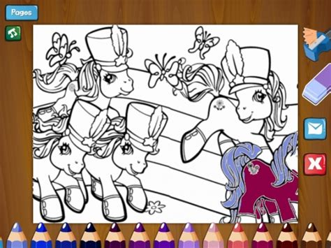 mlp coloring book review my pony coloring book app review apppicker
