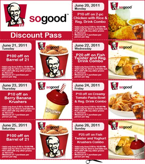 printable kfc coupons coupon kfc 2017 2018 best cars reviews