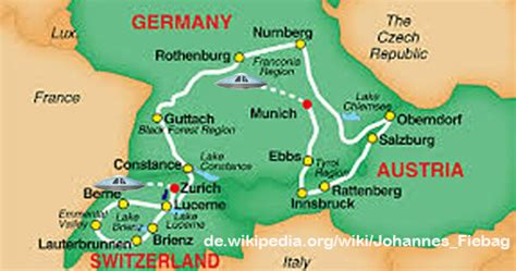 map of southern germany and switzerland fiebag abductions in europe part i