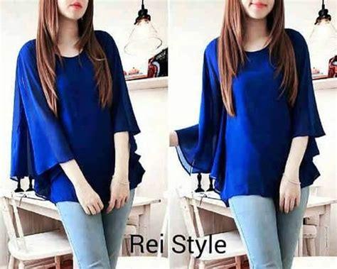 Rock Sweater Blouse Wanita Setelan Baju Celana Panjang Denim informasi model baju atasan wanita trendy terbaru