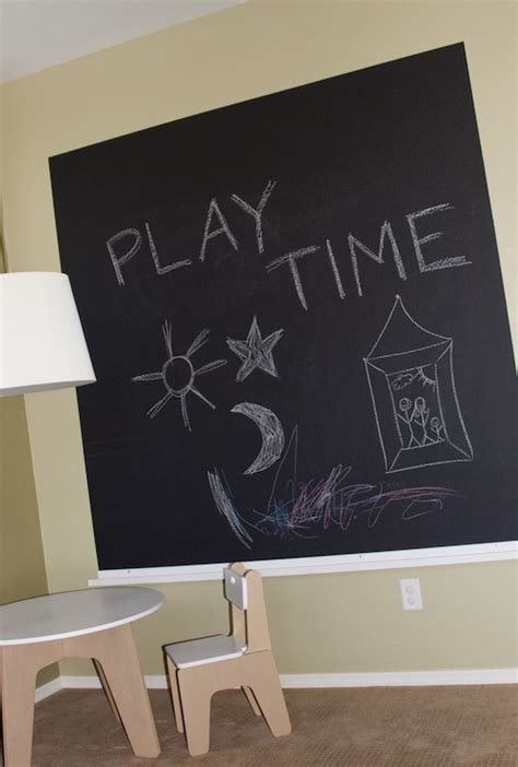 chalkboard paint in rooms