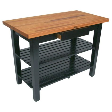 kitchen table with shelves boos oak table boos block 36w kitchen island with 2