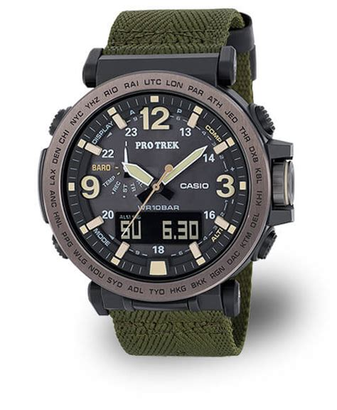 Casio G Shock Prg 270 casio pro trek prg 600 tough solar with stainless steel