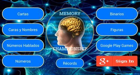 imágenes juego mental los 7 mejores juegos de memoria para android juegos