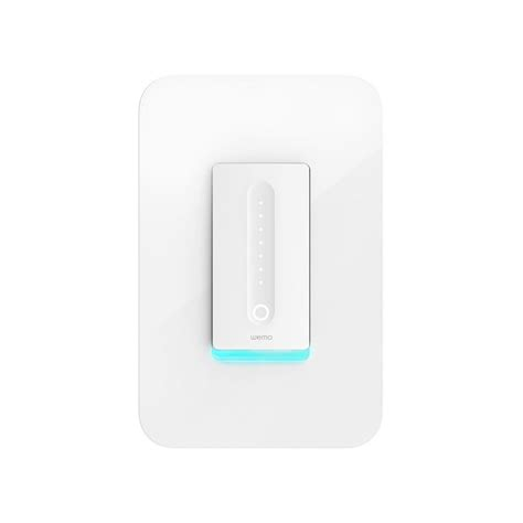 wemo light switch home depot wemo dimmer light switch f7c059 the home depot